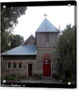 Saint Cyprians Episcopal Church Acrylic Print
