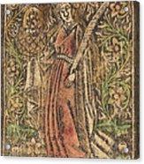Saint Dorothy Acrylic Print