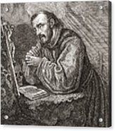 Saint Francis Of Assisi Acrylic Print