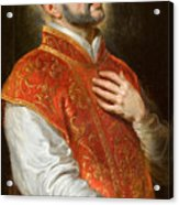 Saint Ignatius Acrylic Print