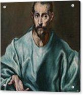 Saint James The Elder Acrylic Print