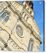 Saint Jean Baptiste Church In Quebec City Acrylic Print