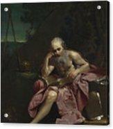 Saint Jerome In The Desert Acrylic Print