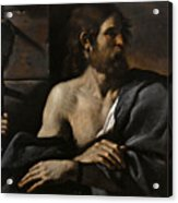 Saint John The Baptist In Prison Visited By Salome Acrylic Print