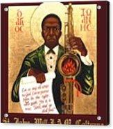 Saint John The Divine Sound Baptist Acrylic Print