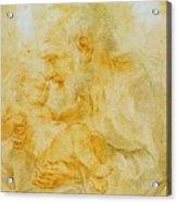 Saint Joseph Acrylic Print