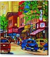 Saint Lawrence Street  Acrylic Print
