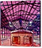 Saint Lazare Station Acrylic Print