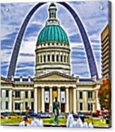 Saint Louis Icons Acrylic Print