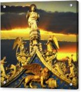 Saint Marks Basilica Facade  Acrylic Print