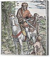 Saint Martin (c316-397) Acrylic Print