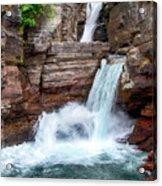 Saint Mary Falls - Glacier National Park Acrylic Print