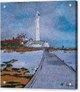 Saint Mary's Lighthouse Acrylic Print