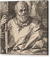 Saint Matthias Acrylic Print