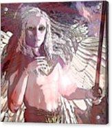 Saint Michael Doll 2 Acrylic Print