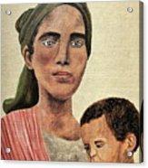 Saint Mother Acrylic Print
