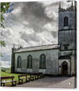 Saint Patricks Church On The Hill Of Tara Acrylic Print