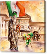 Saint Patricks Pub Acrylic Print