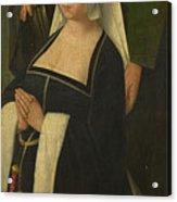 Saint Paul And A Donatrix Acrylic Print