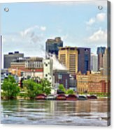 Saint Paul From The Mississippi Acrylic Print
