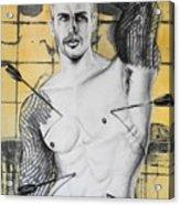 Saint Sebastian Acrylic Print by Carmine Santaniello