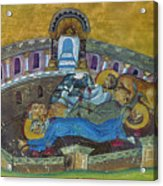 Saint Silvanus Of Emesa Acrylic Print