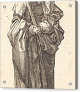 Saint Simon Acrylic Print