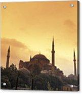 Saint Sophia Hagia Sophia At Sunset Acrylic Print