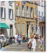 Saint Tropez Moment Acrylic Print