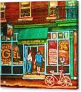 Saint Viateur Bakery Acrylic Print