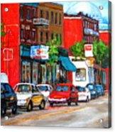 Saint Viateur Street Acrylic Print