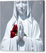 Saint Virgin Mary Statue #1 Acrylic Print