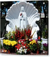 Saint Virgin Mary Statue #2 Acrylic Print