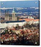 Saint Vitus Cathedral 2 Acrylic Print