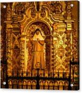 Saints Chapel Acrylic Print
