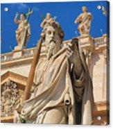 Saints Acrylic Print