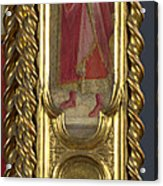 Saints Nicholas Damian And Margaret   Right Pilaster Acrylic Print