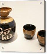 Saki For Two Acrylic Print