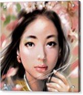 Sakuya Hime Acrylic Print