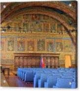 Sala Dei Notari 13th Century Acrylic Print