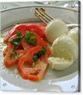 Salad Caprese Acrylic Print