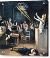 Salem Witch Trial, 1692 Acrylic Print