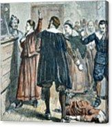 Salem Witch Trials Acrylic Print