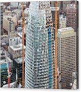 Salesforce Tower In San Francisco Acrylic Print