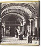 Salle Des Cariatides, Au Mus?e Du Louvre Acrylic Print