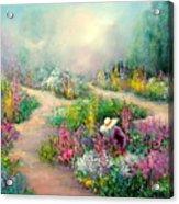 Sally's Garden Acrylic Print