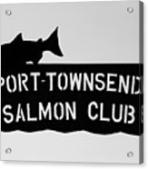 Salmon Club Acrylic Print