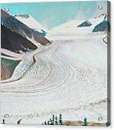 Salmon Glacier, Frozen Motion Acrylic Print