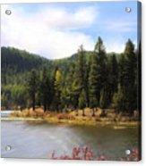 Salmon Lake Montana Acrylic Print