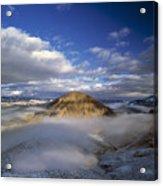 Salmon River Mountains Acrylic Print
